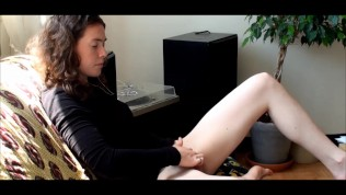 Teen have a big orgasm