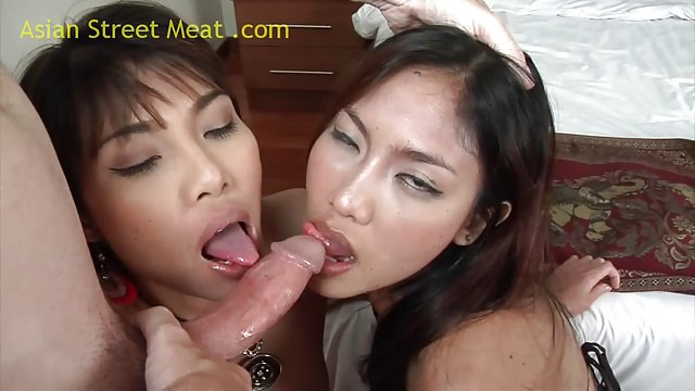 Thai Threesome Noy And On
