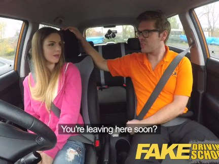 Fake Driving School a new series by the makers of Fake Taxi