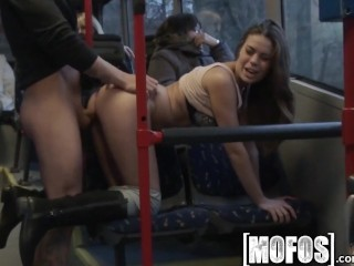 Mofos – Bonnie Shai gets pounded on the bus