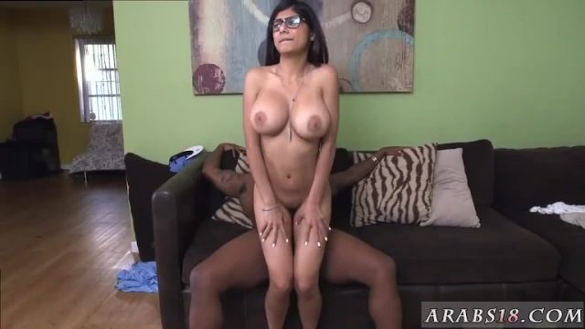 White lingerie interracial Mia Khalifa Tries A Big Black Dick