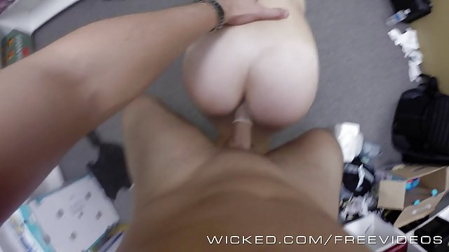 Wicked – Hot pov cumshot in the backroom