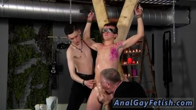 Young interracial bondage movie gay Inexperienced Boy Gets Owned