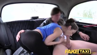 Fake Taxi Russian hairy pussy natural tits
