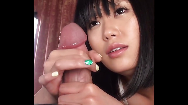 Uncensored Handjob By A Japanese Cutie