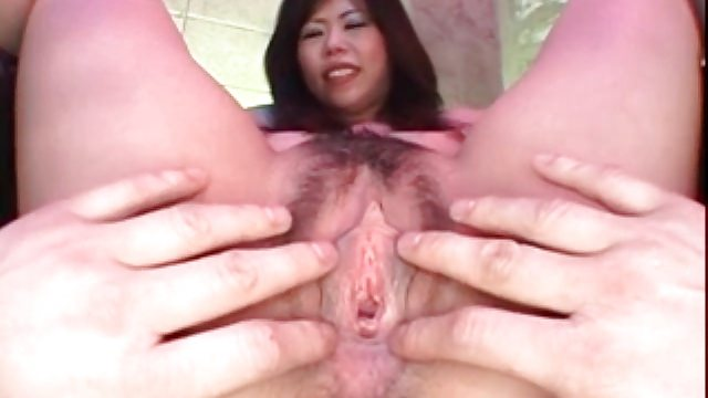 Uncensored Japan Porn – close up of hairy asian pussy