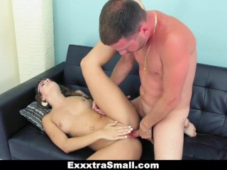 ExxxtraSmall – Petite Teen Caught and Fucked by Her Neighbor